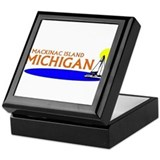 Mackinaw island Keepsake Box