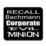 Recall Michele Bachmann Mousepad