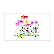 Flower Bunch Wall Sticker