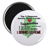 Bennies Go Home Magnet