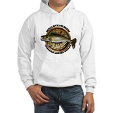 Hooded Walleye Sweatshirt Hoodie