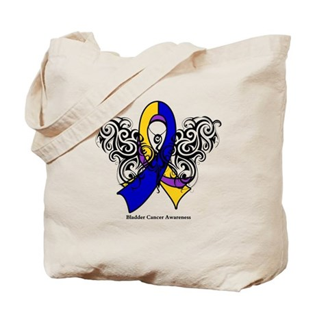 Bladder Cancer Tribal Tote Bag