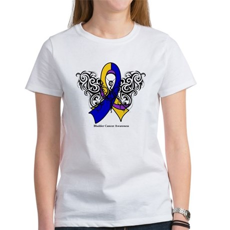 Bladder Cancer Tribal Women's T-Shirt