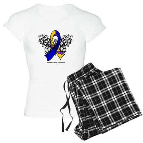 Bladder Cancer Tribal Women's Light Pajamas