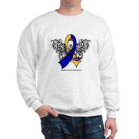 Bladder Cancer Tribal Sweatshirt
