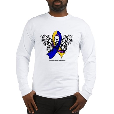 Bladder Cancer Tribal Long Sleeve T-Shirt