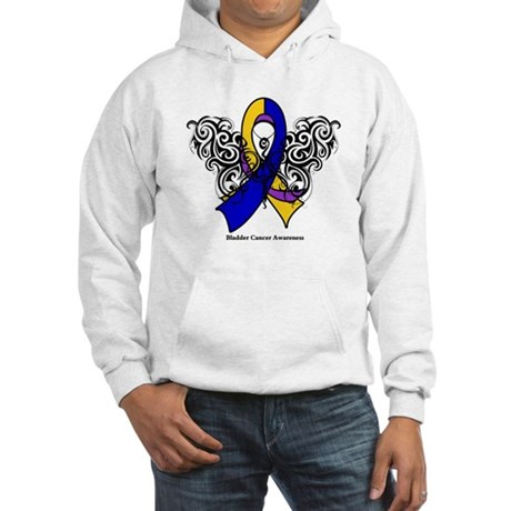 Bladder Cancer Tribal Hooded Sweatshirt