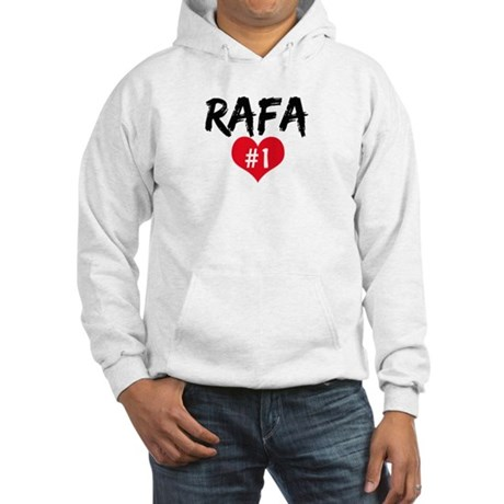 RAFA number one Hooded Sweatshirt