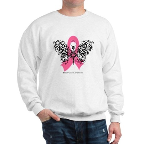 Breast Cancer Tribal Sweatshirt