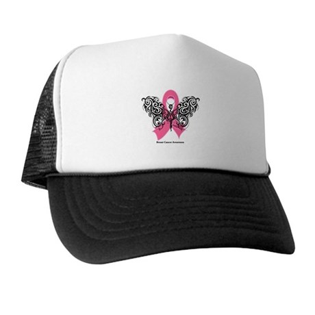 Breast Cancer Tribal Trucker Hat