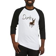 Dumb Donkey Baseball Jersey