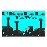 UKuLeLe ToWn Decal