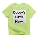 Daddy's Little Hawk Infant T-Shirt