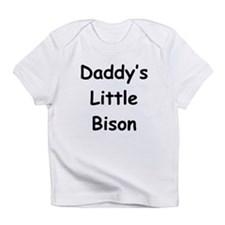 Daddy's Little Bison Infant T-Shirt