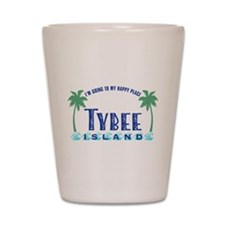 Tybee Happy Place - Shot Glass