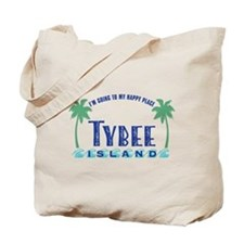 Tybee Happy Place - Tote Bag