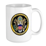 US Army Retired Eagle Mug