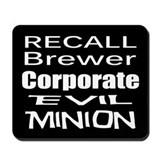 Recall Governor Brewer Mousepad