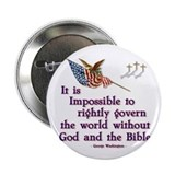 "Govern With God 2.25"" Button"