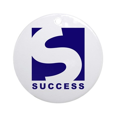 Designs: Success Ornament (Round)