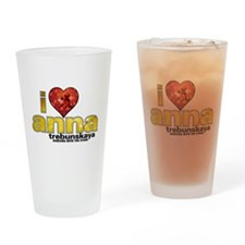I Heart Anna Trebunskaya Pint Glass