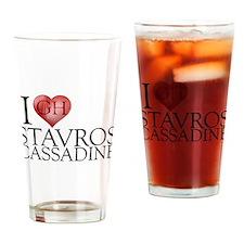 I Heart Stavros Cassadine Pint Glass
