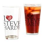 I Heart Steve Hardy Pint Glass