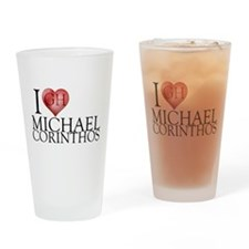 I Heart Michael Corinthos Pint Glass