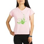 Earth Day Swirls Women's Double Dry Short Sleeve M