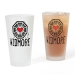 I Heart Widmore - LOST Pint Glass