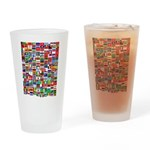Parade of Nations Pint Glass