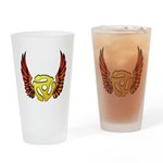 Red Winged 45 RPM Adap Pint Glass