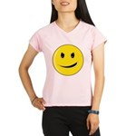 Smiley Face - Evil Grin Women's Double Dry Short S