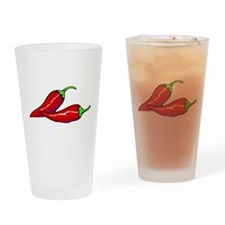 Red Hot Peppers Pint Glass