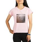 Iron (Fe) Women's Double Dry Short Sleeve Mesh Shi
