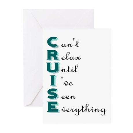 Can't Relax Greeting Cards (Pk of 10)