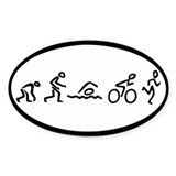 Triathelution Decal