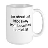 homicidal Coffee Mug