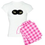 Black Cat Eyes Women's Light Pajamas
