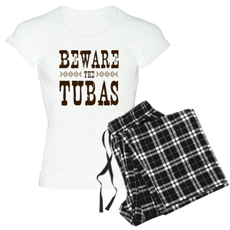 Beware the Tubas Women's Light Pajamas