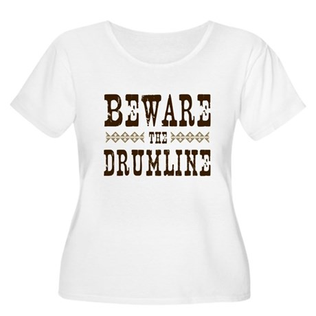 Beware the Drumline Women's Plus Size Scoop Neck T