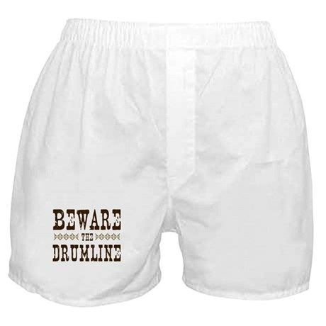 Beware the Drumline Boxer Shorts