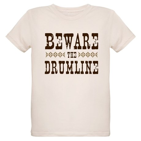 Beware the Drumline Organic Kids T-Shirt