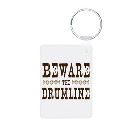 Beware the Drumline Aluminum Photo Keychain