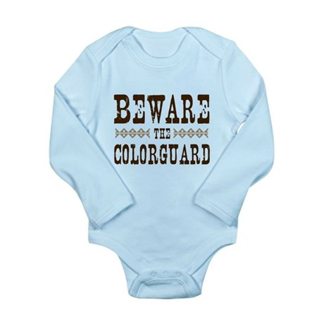 Beware the Colorguard Long Sleeve Infant Bodysuit