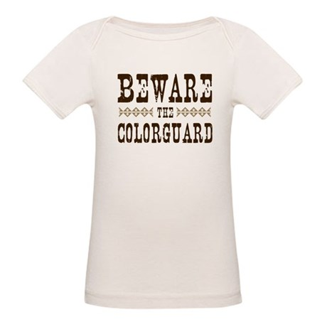 Beware the Colorguard Organic Baby T-Shirt