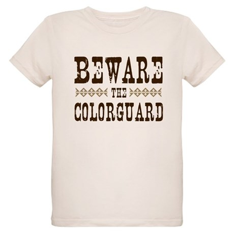 Beware the Colorguard Organic Kids T-Shirt