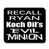 Recall House Rep Paul Ryan Mousepad