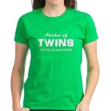 Sanity overrated twins Tee