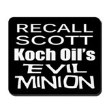 Recall Governor Rick Scott Mousepad